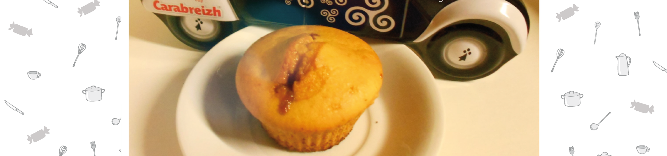 Muffins gourmands aux caramels au beurre salé Carabreizh