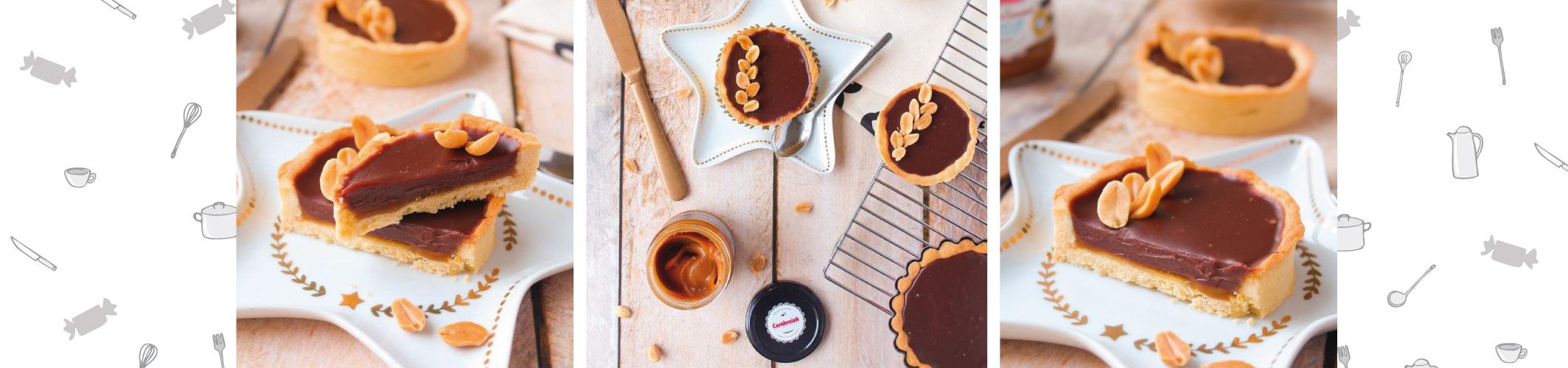 Tartelettes Chocolat  & Caramel beurre salé