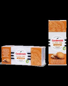 Petits sablés bretons caramel Carabreizh