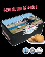 Petits sablés bretons au beurre salé Boite 320g